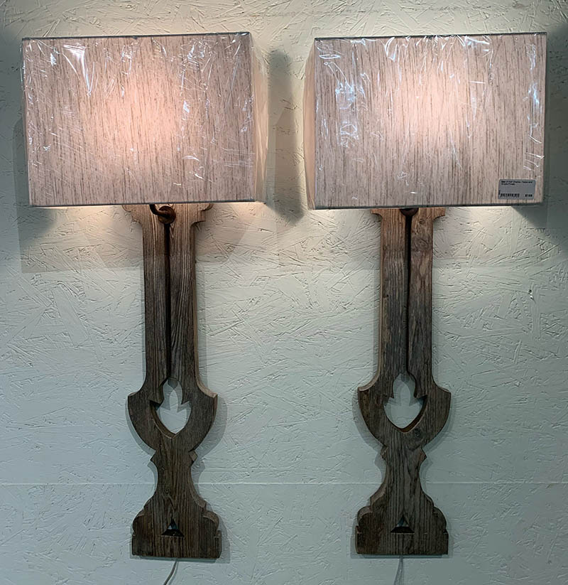 Wood Sconces