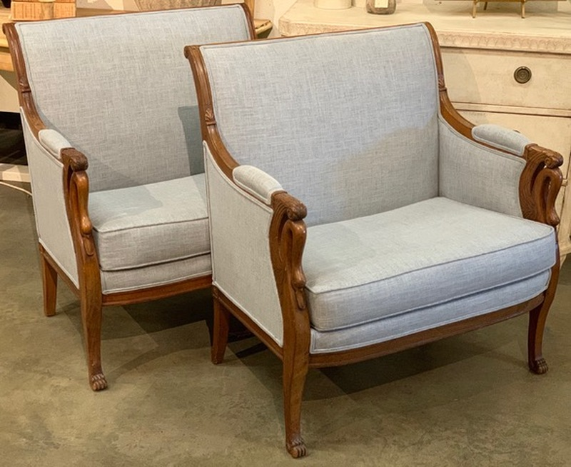 Empire Swan Arm Chairs