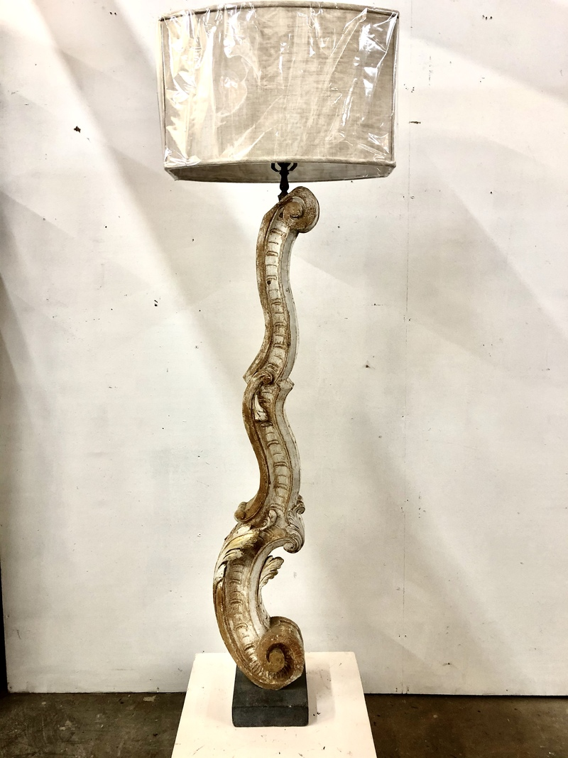Italian fragment floor lamp