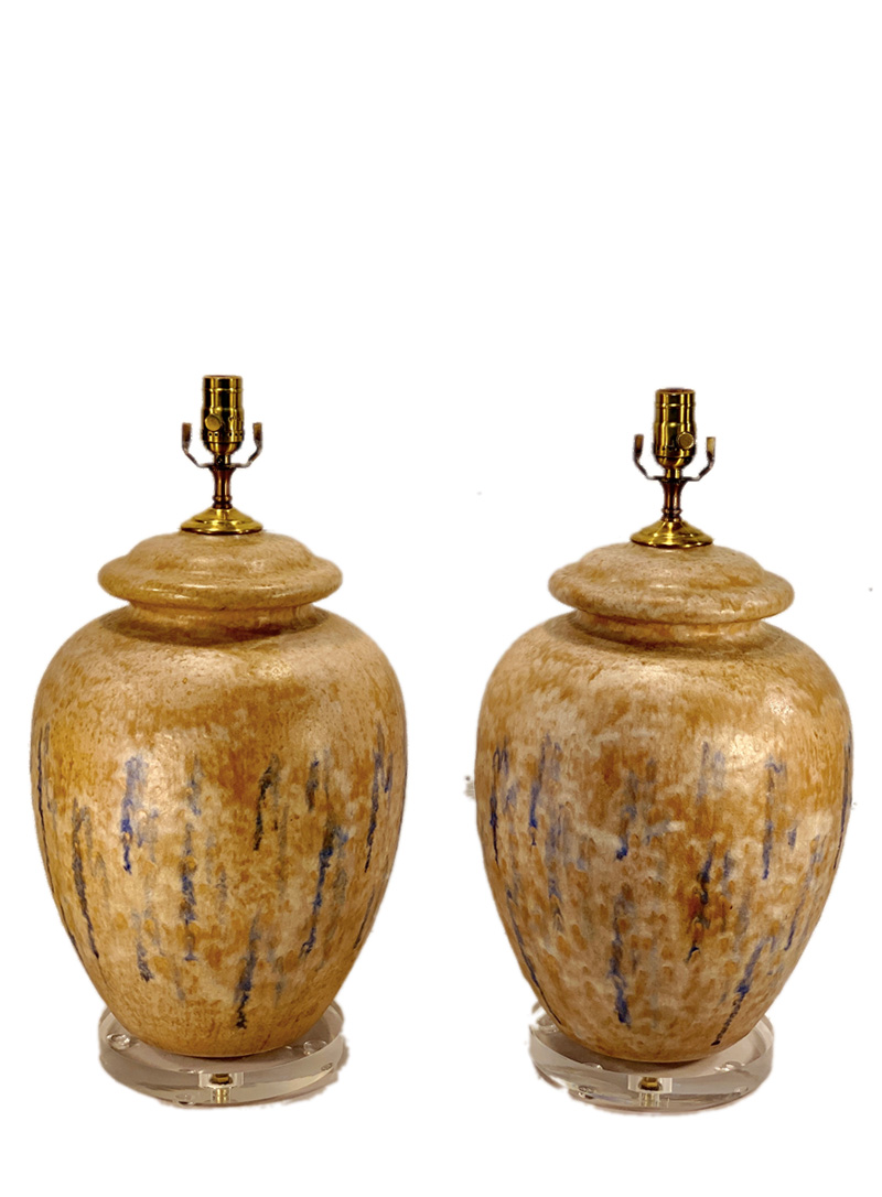 Glazed Ginger Jar Pottery