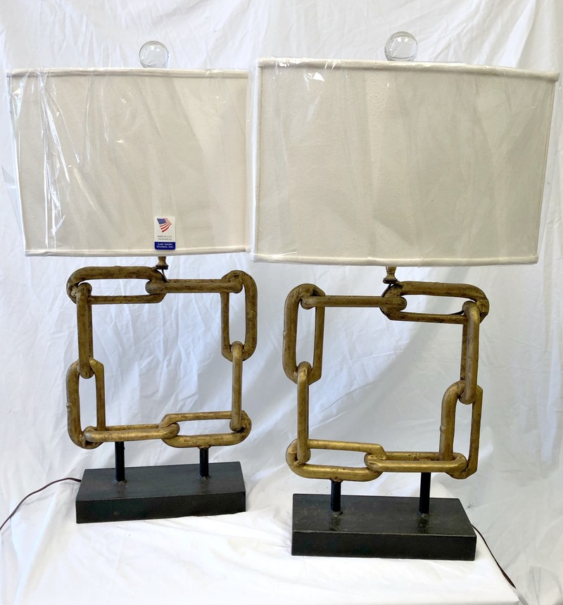 Square Chain Lamps