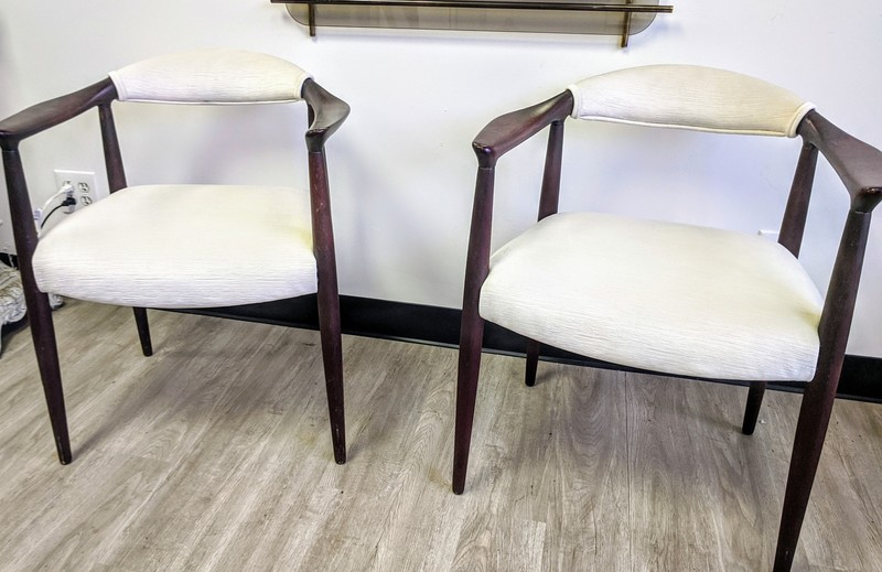 Hans Wegner Attributed Arm Chairs