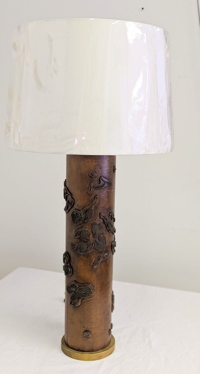 Wallpaper Roll Lamp