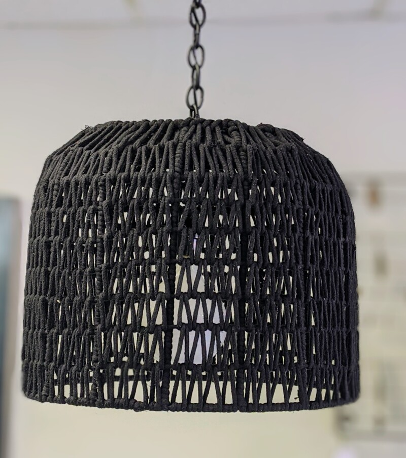 Basket Light Fixture